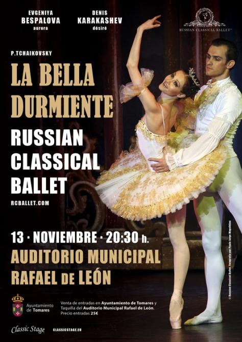 Cartel Russian Classical Ballet La Bella Durmiente.jpg