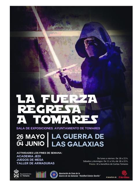 Cartel Expo Guerra Galaxias en Tomares 2017.jpg