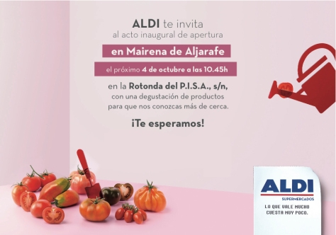 Convocatoria-ALDI en Mairena