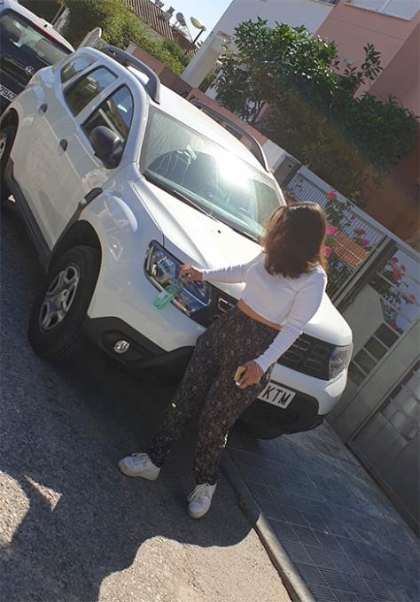 Dacia Duster Robado